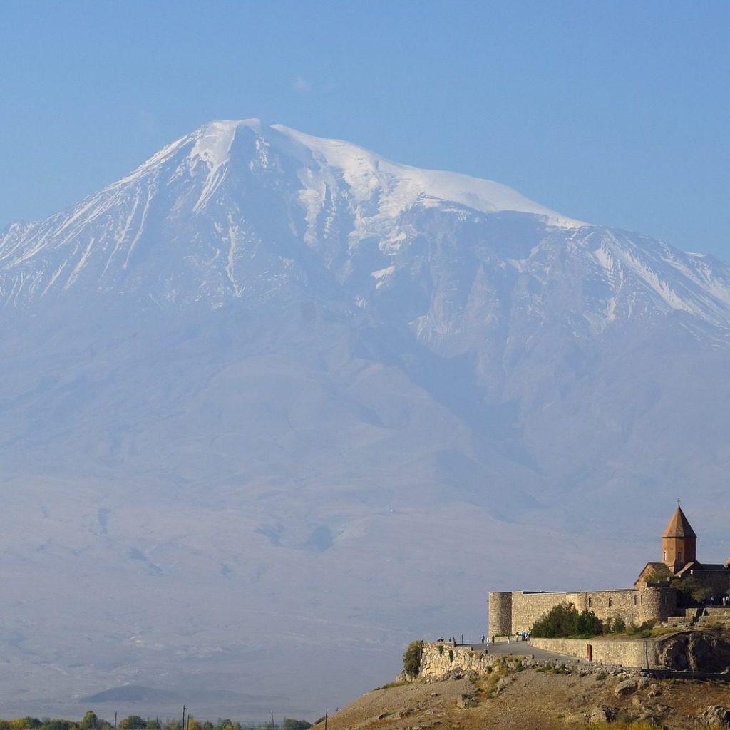 De berg Ararat